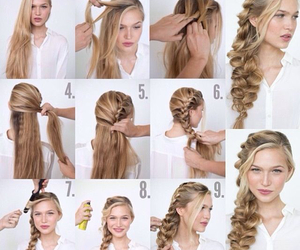 braids, chicas, and girl image