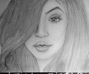 draw, kylie, and drawing image