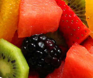 food, fruit, and FRUiTS image