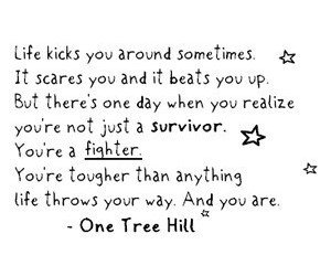 one tree hill, life, and fighter image