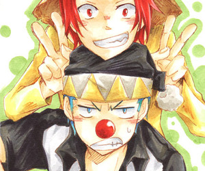 one piece, buggy, and shanks image