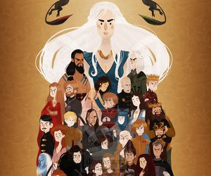 game of thrones, got, and character image
