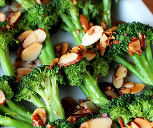 broccoli, food, and healthy image