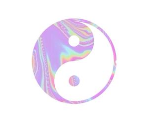 transparent, tumblr, and ying yang image