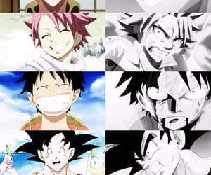 fairy tail, bleach, and one piece image