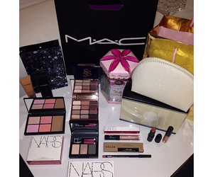make up, nars, and mac image