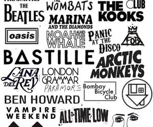 band, arctic monkeys, and music image