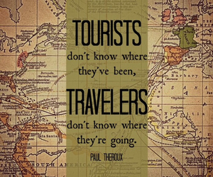 tourist, travel, and traveler image