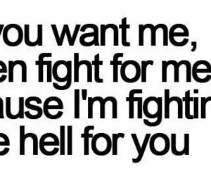 quote, love, and fight image