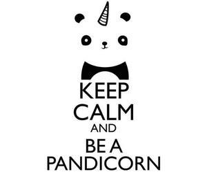 unicorn, pandicorn, and panda image