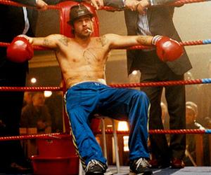 boxer, boxing, and brad pitt image