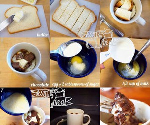 food, chocolate, and diy image