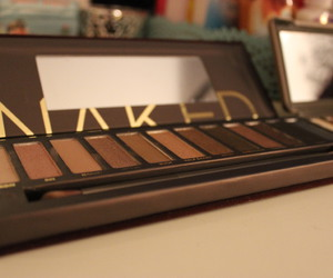 beauty, makeup, and naked palette image