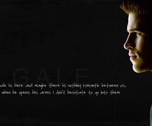 the hunger games, gale, and thg image
