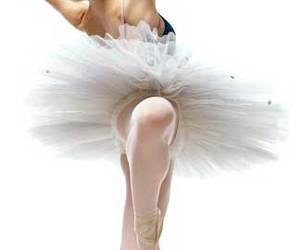 ballerina, dance, and performance art image