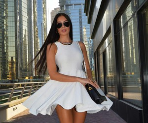 outfit, white, and laura badura image