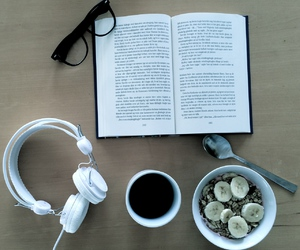 book and headphones image