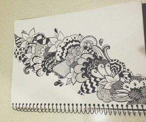 drawing, art, and doodles image