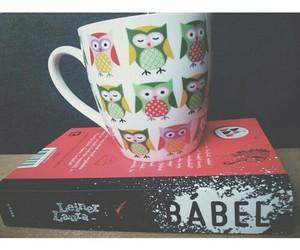 hiboux, mugs, and white image
