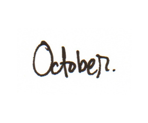 october, text, and autumn image
