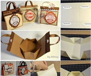 diy, bag, and gift image