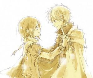 zen, anime couple, and shirayuki image