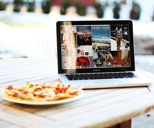 food, tumblr, and laptop image
