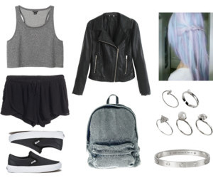 girl, outfit, and Polyvore image