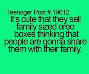 oreo, family, and funny image