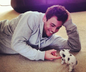 cute, tom daley, and Hot image