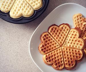 food and waffel image