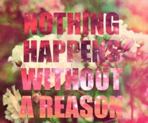 reason, nothing, and quote image