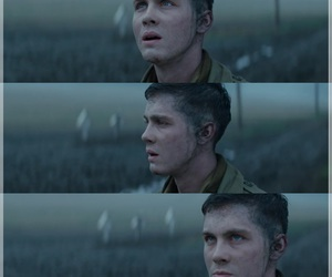 fury and logan lerman image