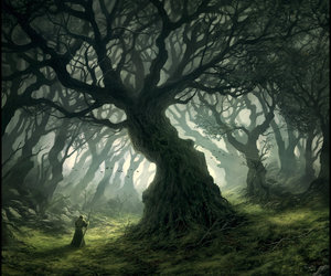 deviantart, lord of the rings, and mysterious image
