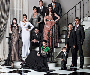 kardashian, kim kardashian, and family image