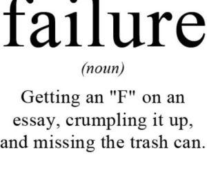 essay and failure image