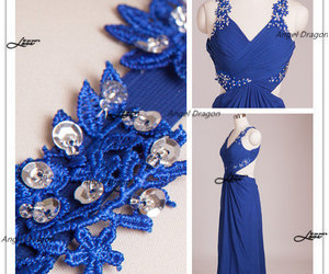 evening dress, prom dresses, and party dresses image