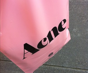 pink, acne, and bag image