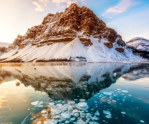 beautiful, lake, and ice image