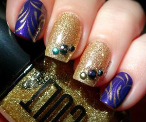 fashion, nail, and nail art image