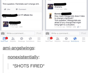 feminist and tumblr image