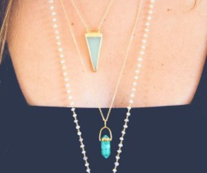 necklace, style, and pretty image