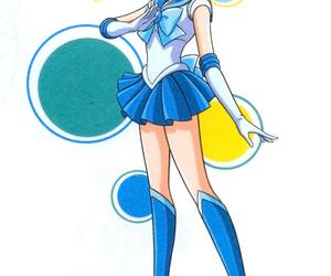 sailor mercury and sailor moon image