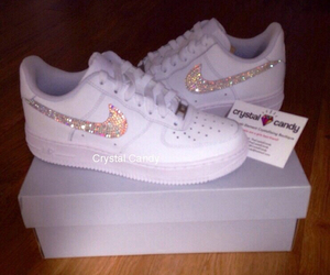 nike, shoes, and glitter image