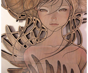 audrey kawasaki, close-up, and painting image