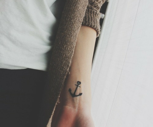 tattoo and anchor image