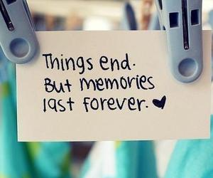 memories, forever, and quotes image