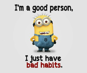 bad, good, and minions image