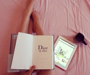 book, dior, and girl image