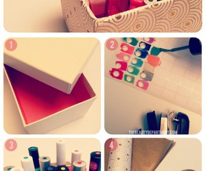 diy, nails, and box image
